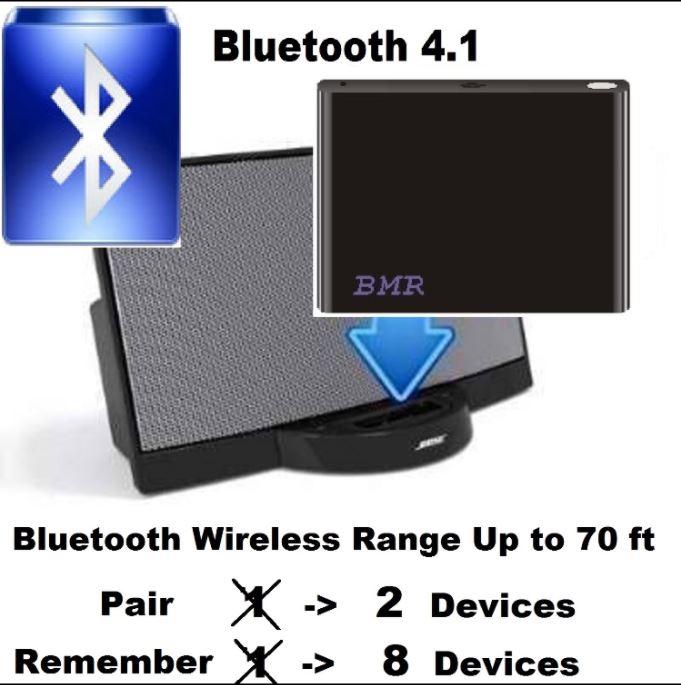 get bmr 30 pin power adapter for bose sounddock original waterproof sleeve that